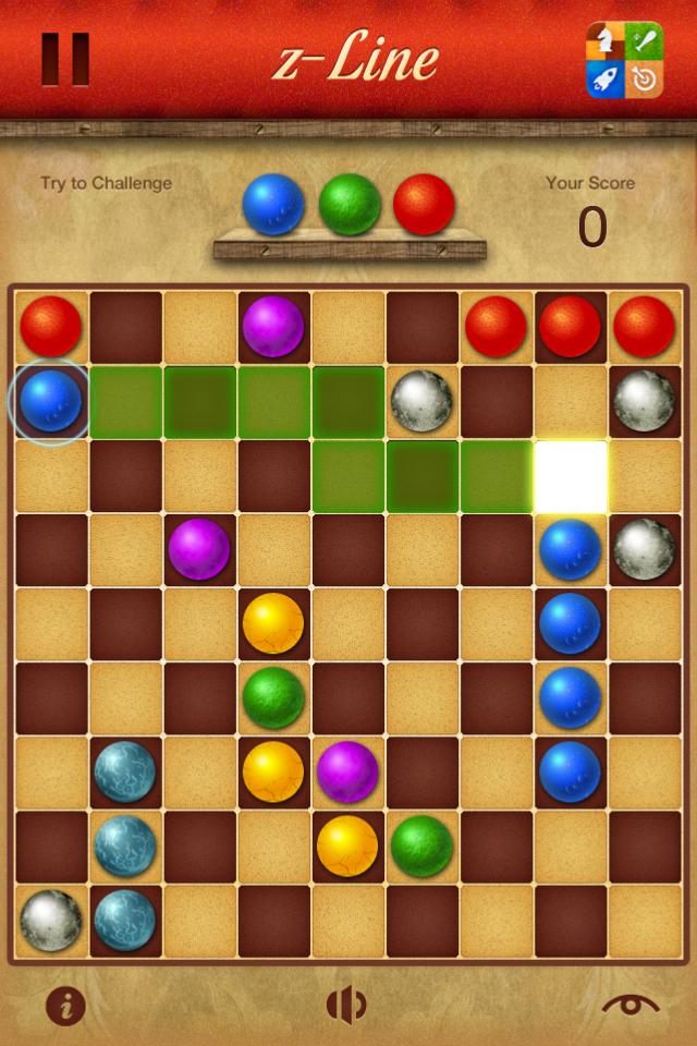 Screenshot z-Line
